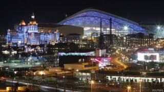 Parque olímpico de Sochi. Foto: Reuters