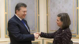 Янукович и Нуланд