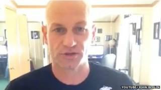 John Berlin, em reprodução do YouTube