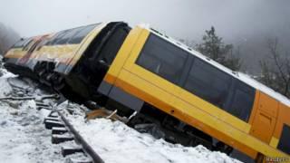 Железнодорожная кататсрофа во Франции