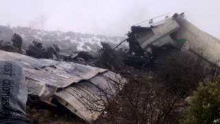 Крушение самолета в Алжире