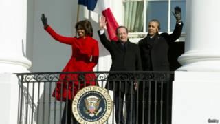 Визит Олланда в Белый дом