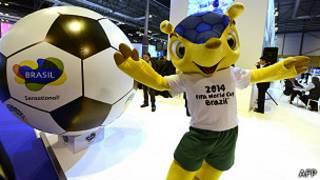 Armadillo, mascota de la Copa del Mundo