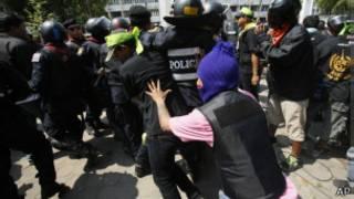 Pemrotes di Thailand