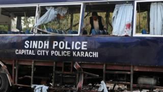 पाकिस्तान के कराची में आत्मघाती हमला