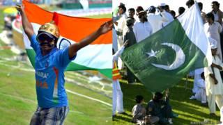 भारत पाकिस्तान क्रिकेट