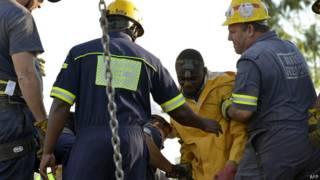 दक्षिण अफ्रीका खदान दुर्घटना