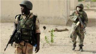 नाइजीरियाई सैनिक