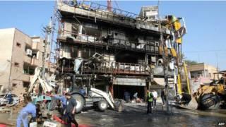 इराक बम विस्फोट