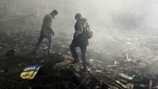 Апокаліптичні сцени в Києві