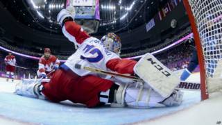 Поражение российских хоккеистов