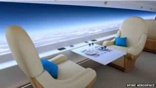 Gráfico del jet sin ventanas