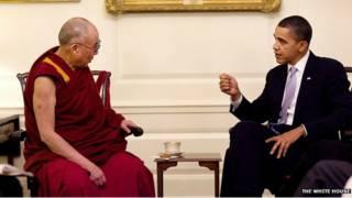 Đức Đà Lai Lạt Ma và ông Obama