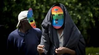 Демонстрация в защиту прав ЛГБТ в Кении
