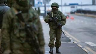 نیروهای نظامی در کریمه