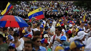 Movilización en Caracas