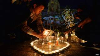 Vigilia por los muertos en Kunming