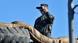 Soldado ucraniano en Crimea