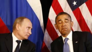 Shugaba Obama da Vladimir Putin