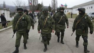 क्राईमिया, यूक्रेन, सैनिक