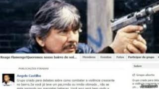 احدى المشاركات المتعلقة بالأسلحة على موقع فيس بوك