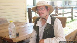 German tourist lost in Australia