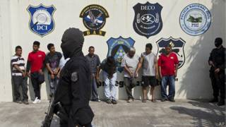 Líderes de pandillas en El Salvador