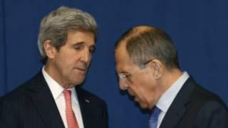 ရုရှားနဲ့အမေရိကန် နိုင်ငံခြားရေး ဝန်ကြီးတို့ဆွေးနွေး
