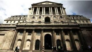 位於倫敦東城金融城中心的英格蘭銀行大樓