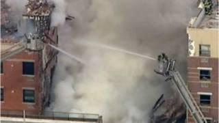 Обвал стався після вибуху газу