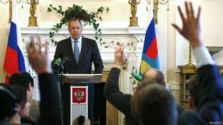 Sergei Lavrov   Crédito: Reuters