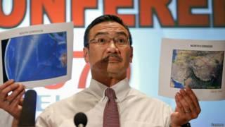 Ministro dos Transportes da Malásia Hishammuddin