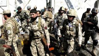 अफ़ग़ानिस्तान, तालिबान का हमला