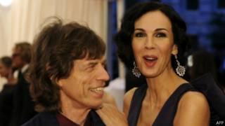 Mick Jagger dan L'Wren Scott