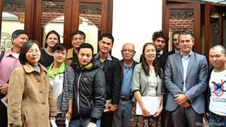 Buổi cà phê nhân quyền tại Hà Nội hôm 20/3/2014