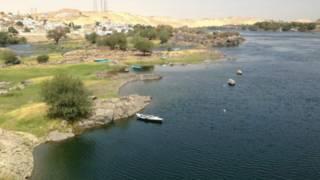 منظر لنهر النيل