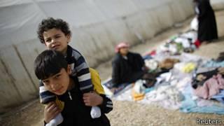 'Yan gudun hirar Syria a Labanon
