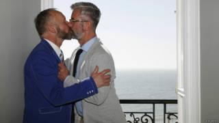 Casal gay | Crédito: Reuters