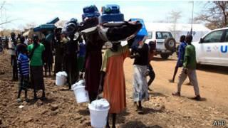 'Yan gudun hijiran Sudan ta Kudu