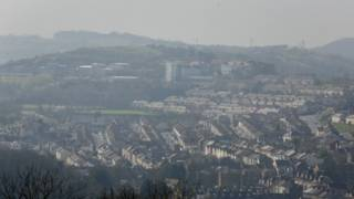 Загрязненный воздух над Англией