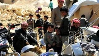 लेबनान में सीरियाई शरणार्थी