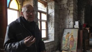 راهب يسوعي في حمص