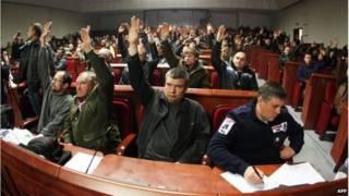 यूक्रेन में अशांति