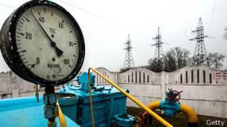 Газовая подстанция под Киевом