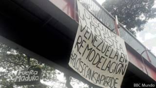 Guarimba en Mérida
