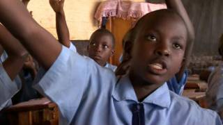 Rwandan school children