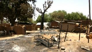 नाइजीरिया का एक गाँव