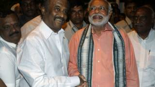 नरेंद्र मोदी और रजनीकांत