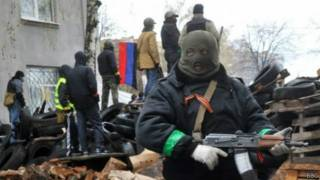Столкновения на востоке Украины