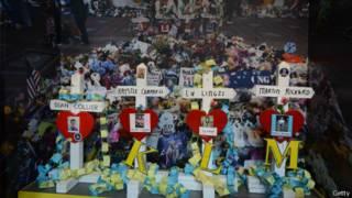 Мемориал жертвам взрыва
